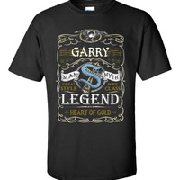 GARRY The Man The Myth The Legend - Unisex Tshirt