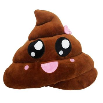 Poop Emoji Pillow Cushions