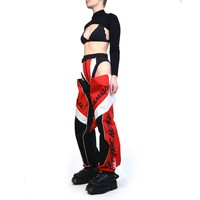 MOTOCROSS PANTY TROUSERS RED