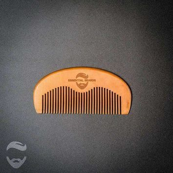 Essential Beards Beard Wood Comb
