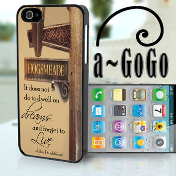 iPhone 5 case Harry Potter inspired Quote design by aGoGoDesign