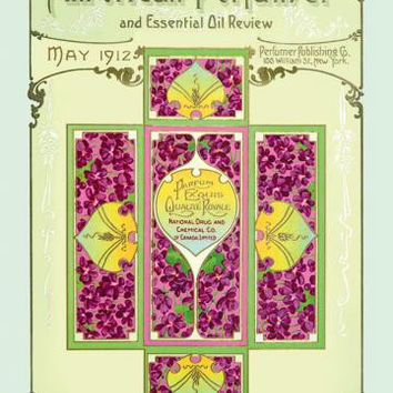 American Perfumer and Essential Oil Review, May 1912 20x30 poster
