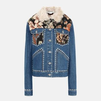 Denim Tapestry Jacket - Stella Mccartney