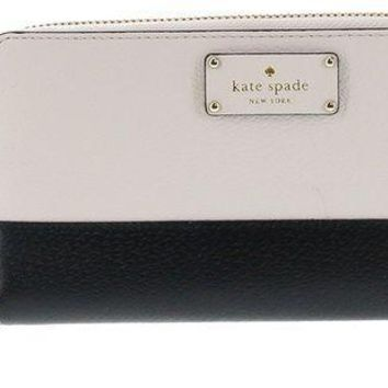 ESBON2D Kate Spade New York Neda Grove Street Leather Zip Around Wallet