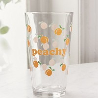 Peachy Pint Glass | Urban Outfitters