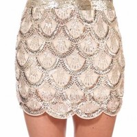 GOLD MERMAID SKIRT