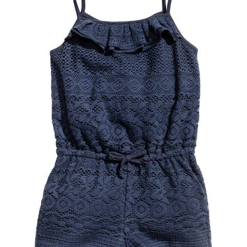 Lace Jumpsuit - from H&M