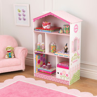 KidKraft Dollhouse Cottage Bookcase - 14604