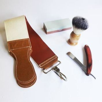 Men's Straight Razor Set