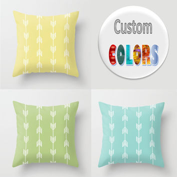 Decorative Throw Pillow - 4 different sizes to Choose From, Square or Rectangular, Double-sided print, Indoors, Outdoors, Cotton, Velveteen