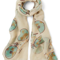 ModCloth Worldly Wanderings Scarf