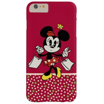 Minnie Mouse 4 Barely There iPhone 6 Plus Case