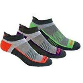DCCK3SY Saucony Women's 3 Pack Inferno Tab Socks