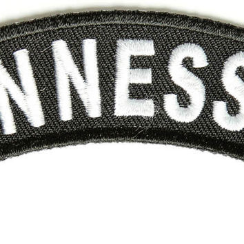Tennessee Rocker Patch Small Embroidered Motorcycle NEW Biker Vest Patch