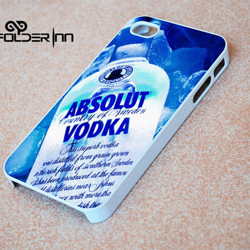 Absolut Vodka logo iPhone 4s iphone 5 iphone 5s iphone 6 case, Samsung s3 samsung s4 samsung s5 note 3 note 4 case, iPod 4 5 Case