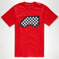 Trukfit Fill Up Truk Mens T-Shirt Red  In Sizes