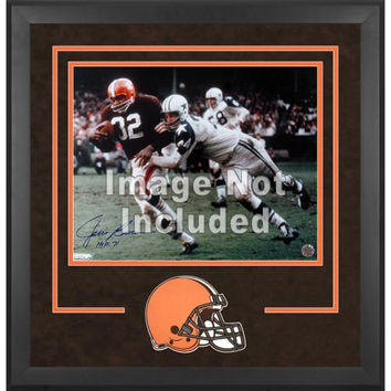 Cleveland Browns Deluxe 16'' x 20'' Horizontal Photograph Frame with Team Logo
