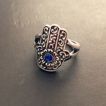 Christmas Thanksgiving Gift FATIMA Stylish New Arrival Shiny Jewelry Gift Vintage Accessory Ring [9210542532]