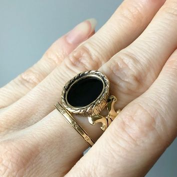 Limited Edition - The FRAME - Ring No. 3 - The Mind's Eye Collection - Choose Your Metal - Gothic - Ring - Gold - Scroll - Statement Ring