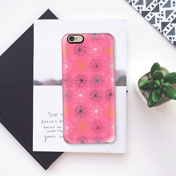 seedheads pink iPhone 6s case by Sharon Turner | Casetify