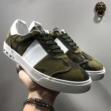 Boys & Men Valentino Fashion Casual Sneakers Sport Shoes