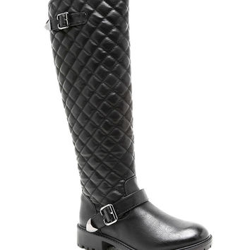 With Honors Quilted Riding Boots
