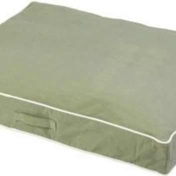 DOG BEDS & LOUNGERS - RECTANGLE BED - ECO GREEN - XX-LARGE - 40X52 - DOG GONE SMART PET PRODUCTS - UPC: 849670002491 - DEPT: DOG PRODUCTS