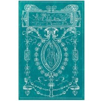 Heraldry Turquoise Wood Wall Art