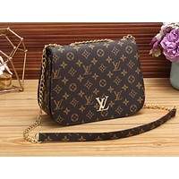 LV Hot Selling Women's Shopping Bag Coloured Single Shoulder Bag