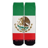 Function - Mexican Flag Fashion Socks