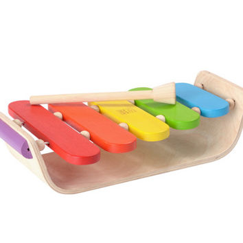 Oval Xylophone Child's Toy