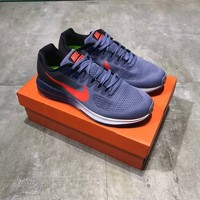 """Nike Air Zoom Structure 21"" Men Sport Casual Multicolor Breathable Running Shoes Fashion Sneakers"