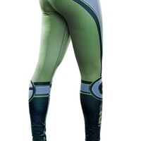 Fiber - Green Bay Packers - NFL leggings