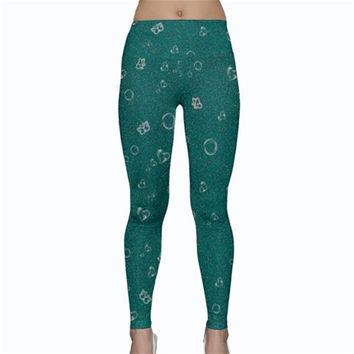 Sweetie Soft Teal Yoga Leggings