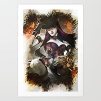 League of Legends Caitlyn Art Print by naumovski