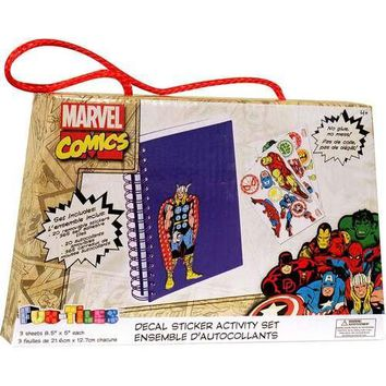 Marvel Comics Fun-Tiles Decal Sticker Set