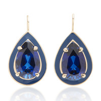 Sapphire Cocktail Drop Earrings | Moda Operandi