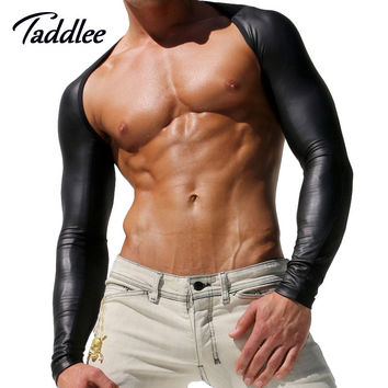 Sexy Men Sleeves Arms Top Clothing Coat Riding Sleeve Sun UV Protection Render Unlined Upper Garment