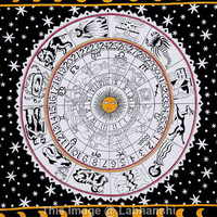 Zodiac Horoscope Tapestry , Indian Astrology Hippie Wall Hanging , Bohemian Twin Wall Hanging, Bedspread Beach Coverlet throw Decor Art