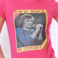 Vintage David Bowie In Concert Tee
