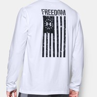Men's UA Freedom Flag Long Sleeve T-Shirt | Under Armour US