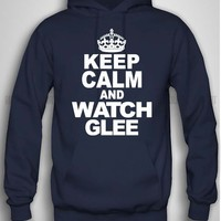 Bull-shirt.com Keep Calm And Watch Glee Hoodie Bull-shirt.com