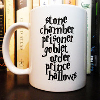 Stone Chamber Prisoner Goblet Order Prince Hallows - Coffee Mug - Harry Potter Mug