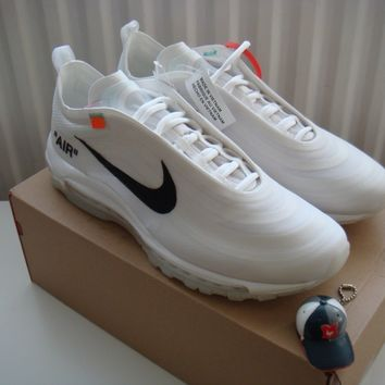 Nike x Off-White Air Max 97 US 13/UK 12 Virgil Abloh/The Ten/Undefeated/UNDFTD