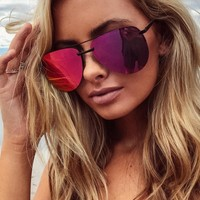 Quay Pink The Playa Sunglasses
