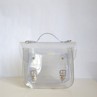 Bag number 3 Small transparent plastic satchel
