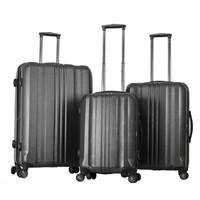Gabbiano Metallic Collection 3 Piece Spinner Set - Luggageology