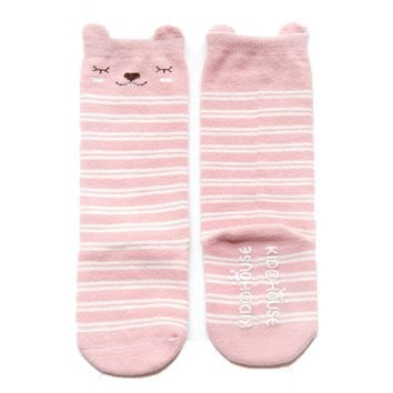 Cute Fox Cotton Infant Baby Kid Girl Toddler Knee High Socks Tight Leg Casual Non-slip Socks Unisex newborn Children accessories