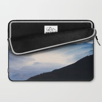 Inhale Laptop Sleeve by Mixed Imagery