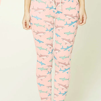Shark Print PJ Pants
